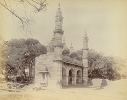 Nawab Sardar Khan's Mosque, on the Jamalpur road, Ahmadabad